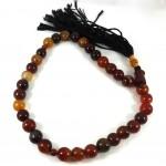 Carnelian Tisbih Prayer Beads