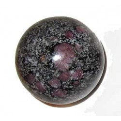 Red Spinel Crystal Ball 52mm
