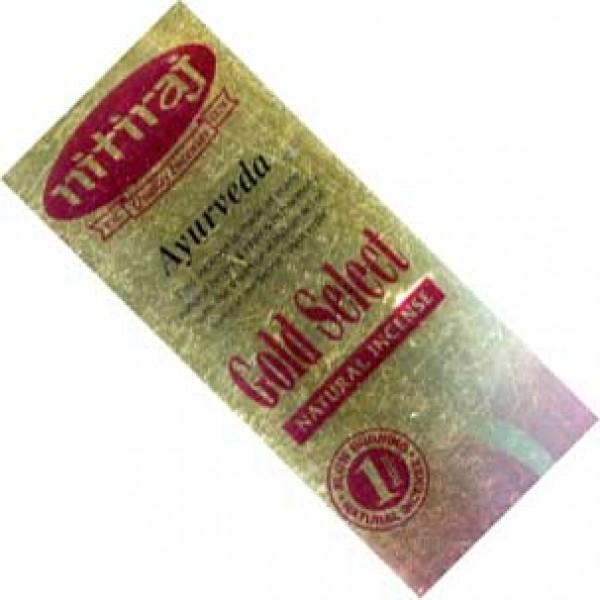Ayurveda Nitiraj Gold Select Incense