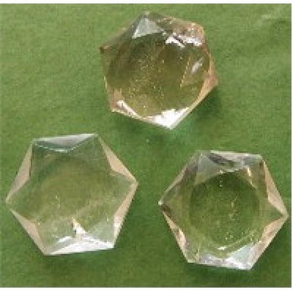 6 pointed Quartz Stars