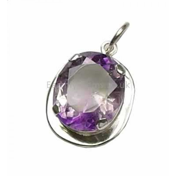 Himalayan Faceted Amethyst Pendant