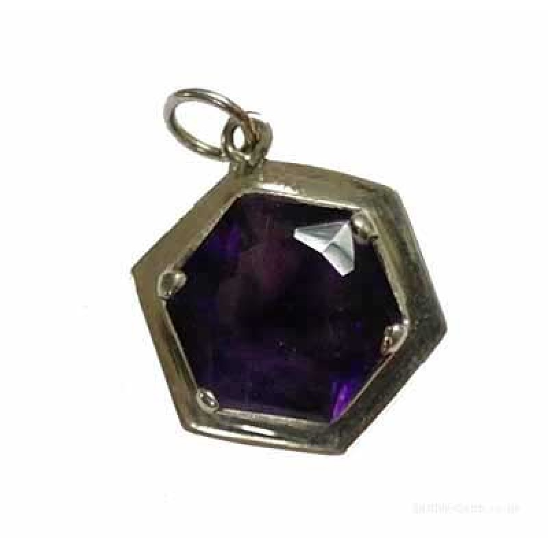 Amethyst silver pendant aloadofball Image collections
