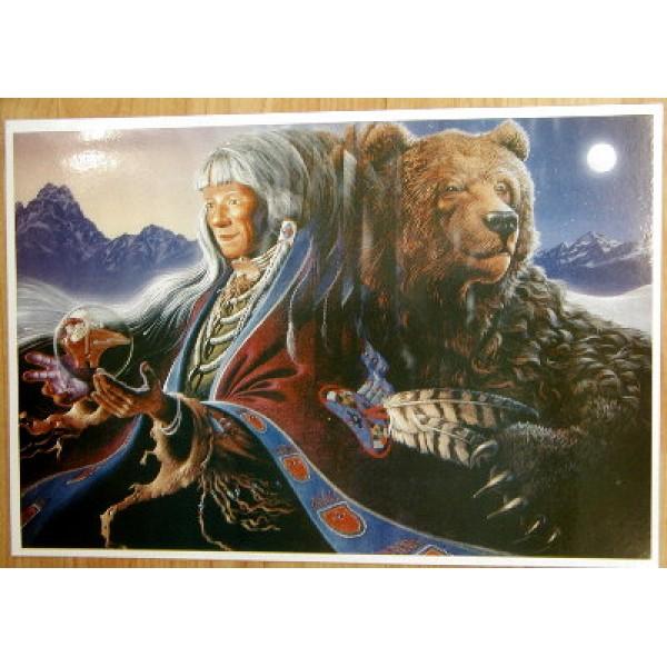 Bear Medicine Poster