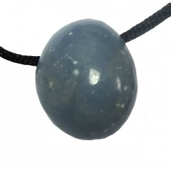Peruvian Angelite Tumblestone Necklace