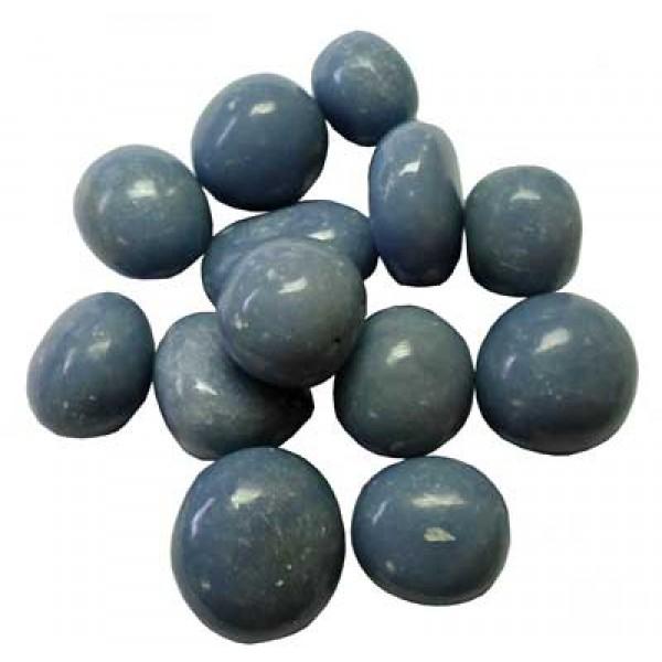 Angelite Medium tumblestones 21-25mm