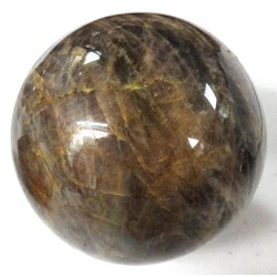 Black Moonstone Crystal Ball
