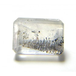 Dendritic Quartz Octagon Style Gemstone