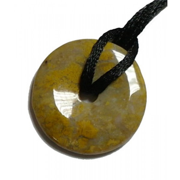 Jasper Donut with Silken Thread