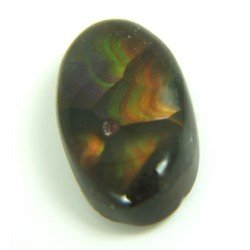 Oval Fire Agate Gemstone