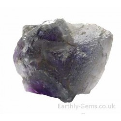 Purple Blue Fluorite Chunk