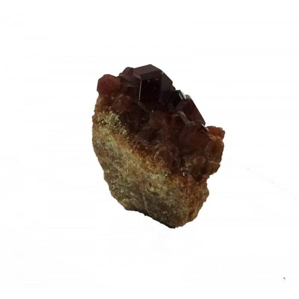 Natural Garnet Crystal Cluster