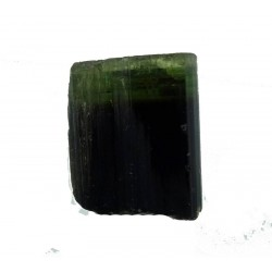 Zoned Green Tourmaline Crystal