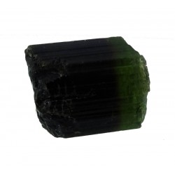 Green Tourmaline Crystal with Zoning