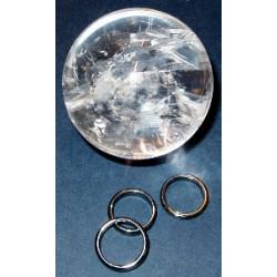 Hematite Crystal Ball Stands