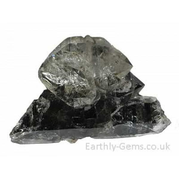 Multiple Point Herkimer Quartz Diamond