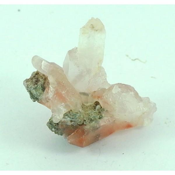Iron in Quartz Formation