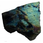 Blue and Purple Labradorite Polished Surface