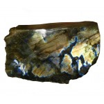 Golden Labradorite with Polished Face