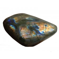 Vibrant Colour Pattern Labradorite Pebble