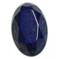 Lapis Lazuli Faceted Oval 24mm