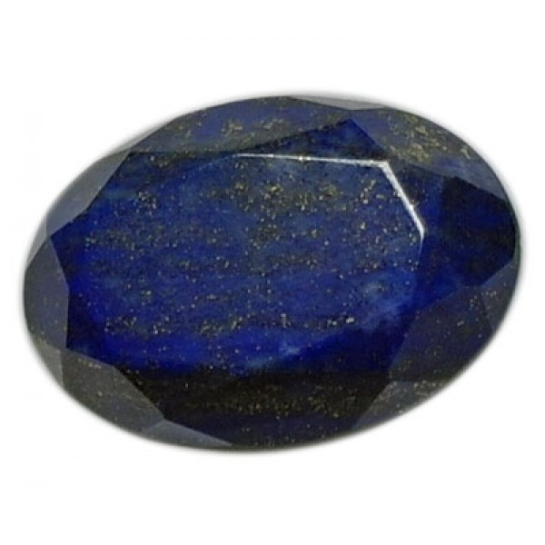 Lapis Lazuli Faceted Oval 32mm