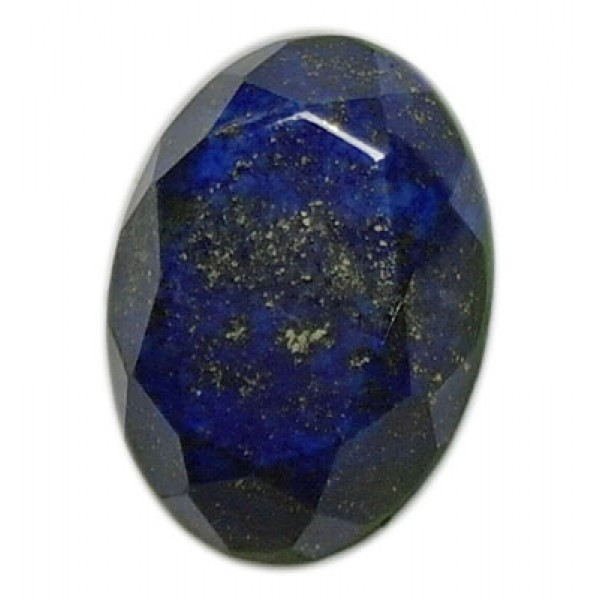 Lapis Lazuli Faceted Oval 29mm