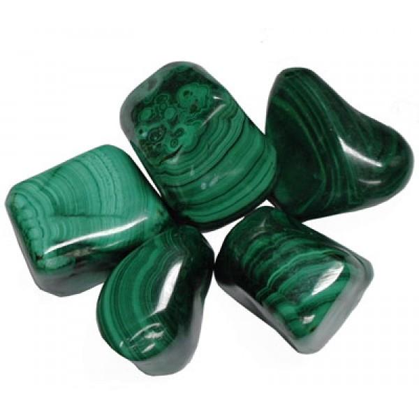 Malachite - Large tumblestones 28-36mm