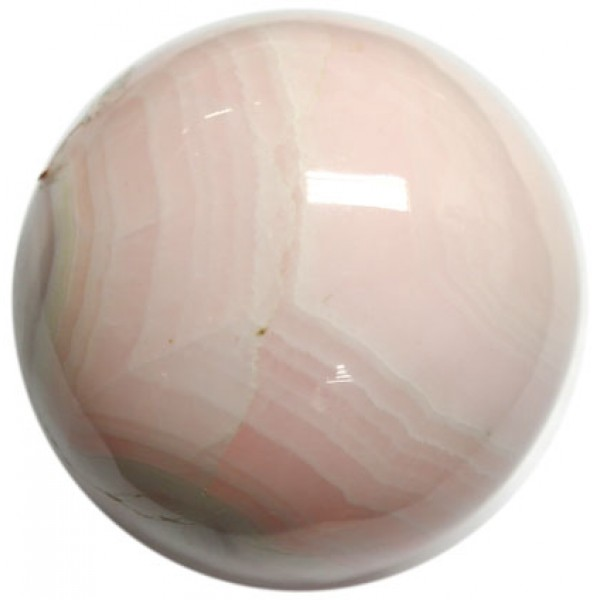 Mangano Calcite Crystal Ball