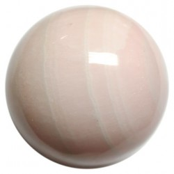 Pink Mangano Calcite Crystal Ball