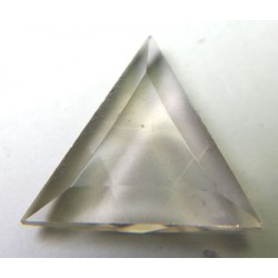 Small Slightly Smokey Quartz Triangle Merkabah Shape