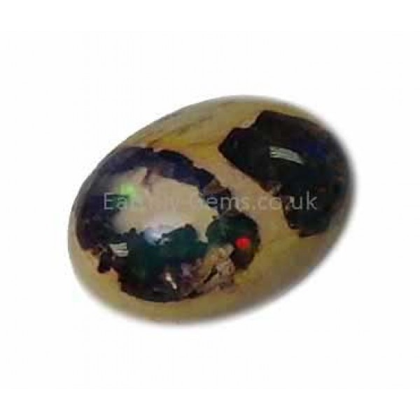Mexican Matrix Opal Green with Purple Colours