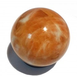 38mm Orange Calcite Sphere
