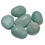 Large Peruvian Amazonite tumblestones 26-35mm