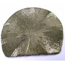 Natural Pyrite Disc