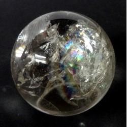 55mm Brazilian Quartz Crystal Ball