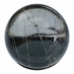 Rutile Quartz Crystal Ball