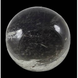 Fine Silver Rutile Quartz Crystal Ball