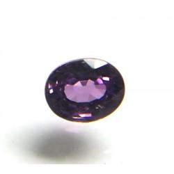 Faceted Purple Sapphire Gemstone