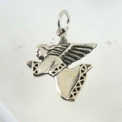 Silver Angel Pendant