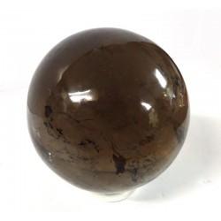 Smokey Quartz Crystal Ball Himalayan