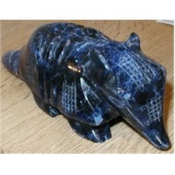 Large Sodalite Armadillo - Crystal Animal