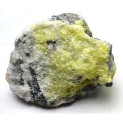 Natural Sulphur Crystal Formation