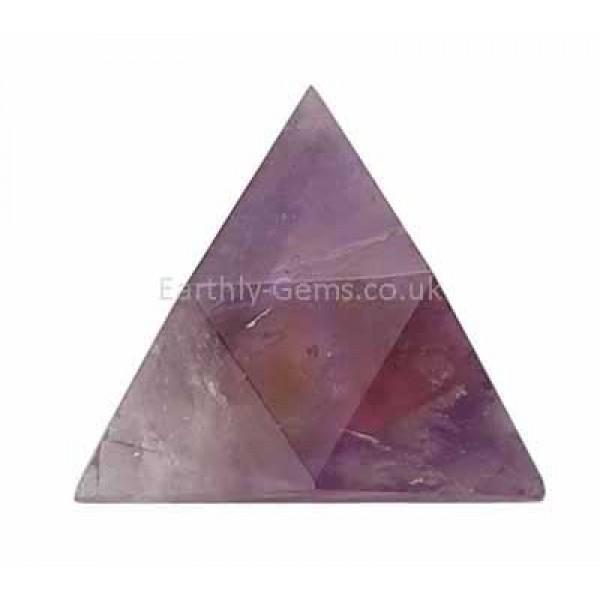 Ametrine Triangle Merkabah Shape