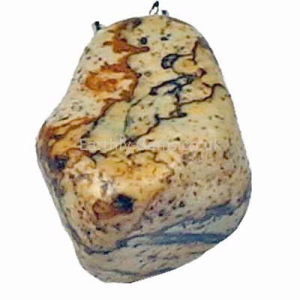 Jasper Tumblestone Pendant