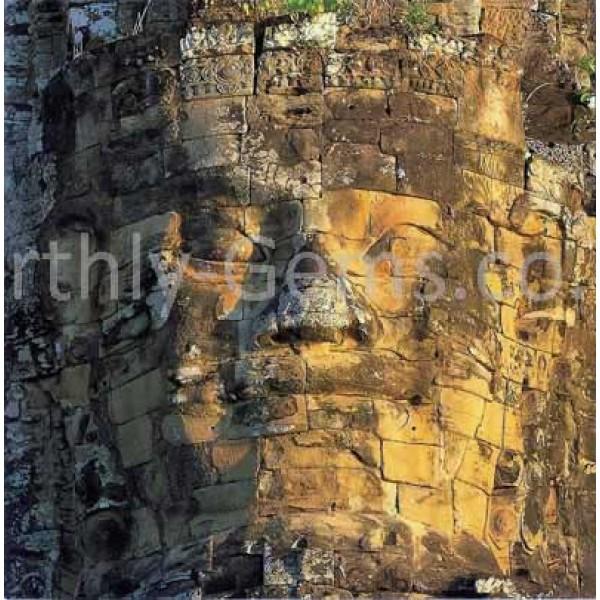 Buddha Wall Cambodia