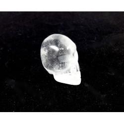 Small Carved Quartz Crystal Skull