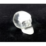Carved Quartz Crystal Skull 27mm
