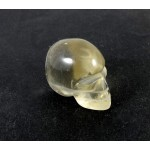 Light Smokey Quartz Crystal Skull