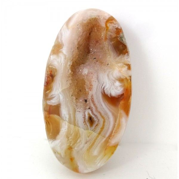 Patterned Agate Geode Cabochon