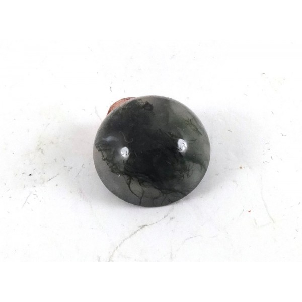 Moss Agate Round Cabochon